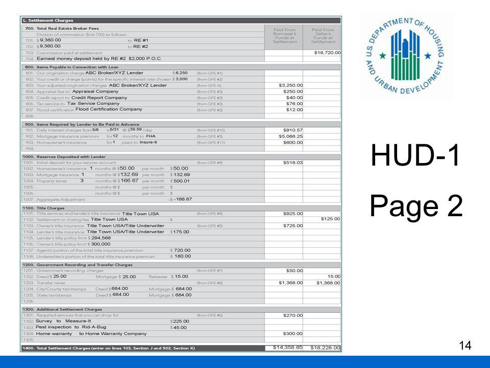 HUD-1 Page 2 14
