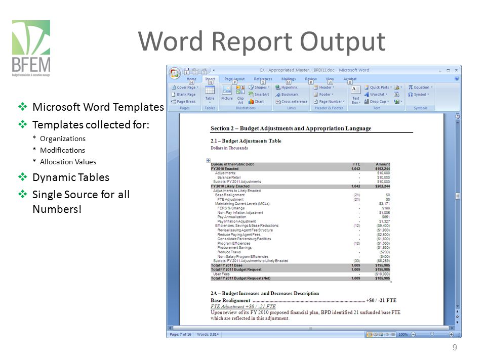 10 Excel Report Output  Custom Written into our Customers' formats  Native MS Excel  Formulas for local gaming  Multiple Sets (columns)  Multiple Worksheets