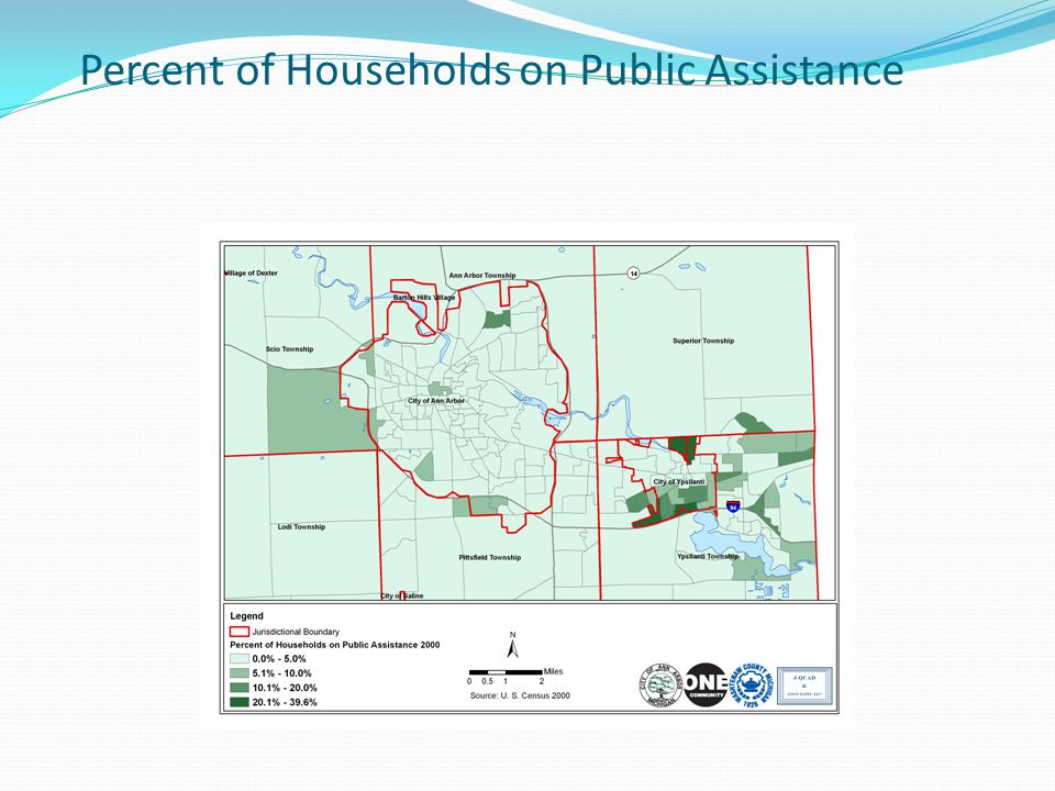 Percent of Households on Public Assistance