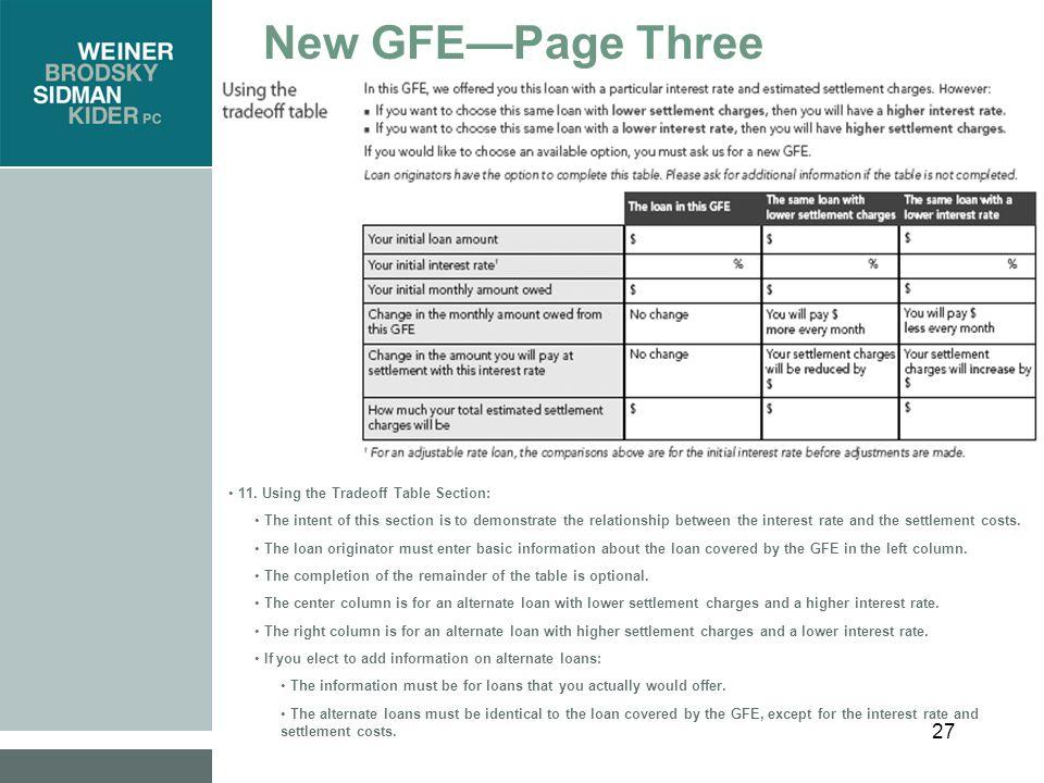 28 New GFE—Page Three 12.
