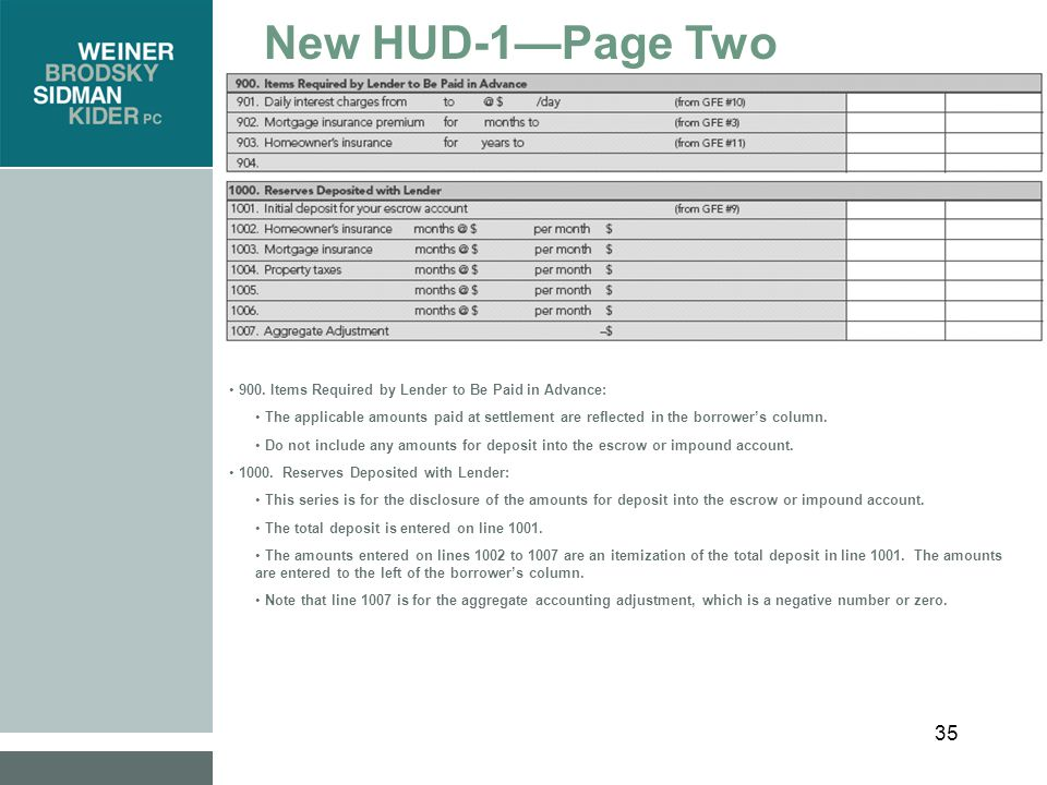 35 New HUD-1—Page Two 900.