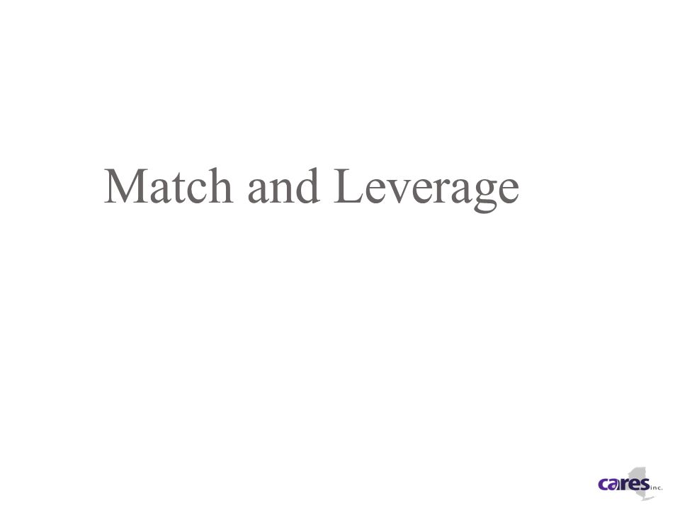 Match and Leverage