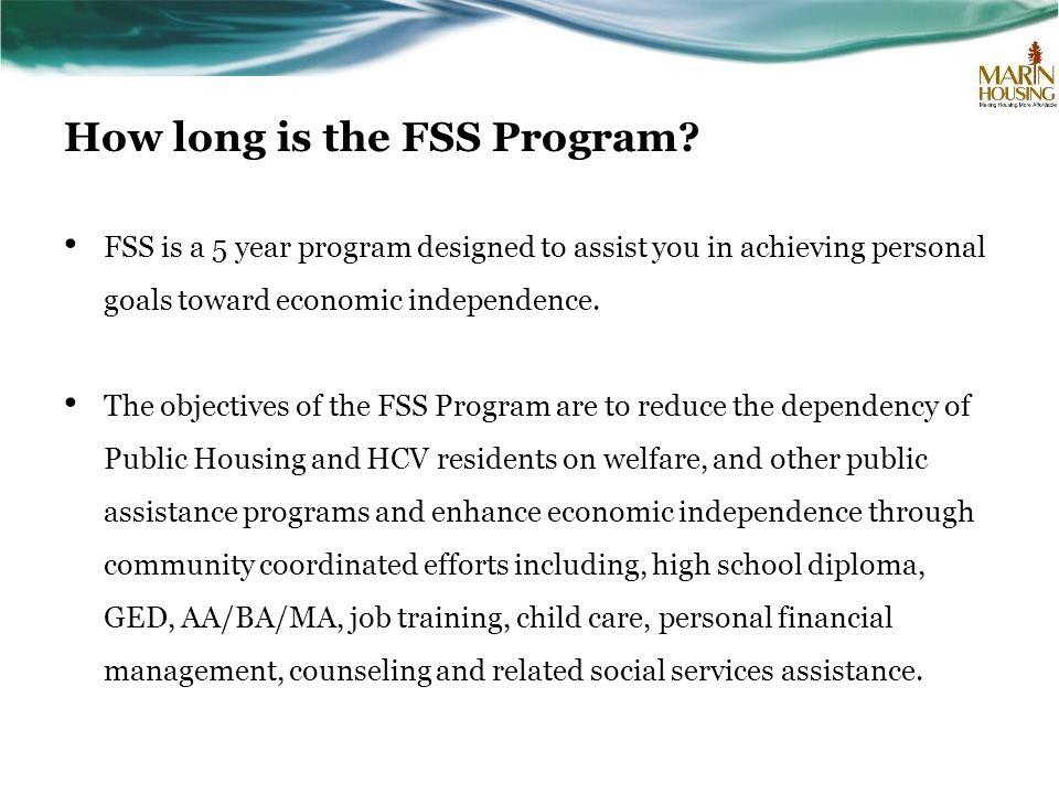How long is the FSS Program.
