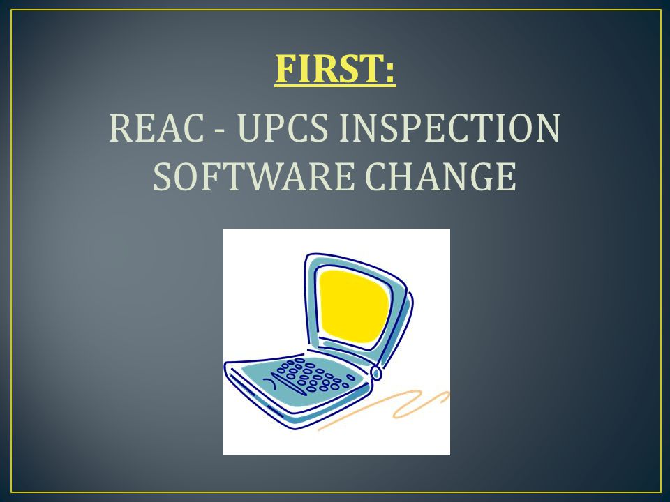  In use by REAC since 2000  Limits the recording of any single deficiency to the highest level for that defect.