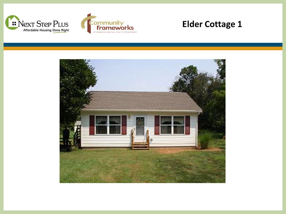 Elder Cottage 1