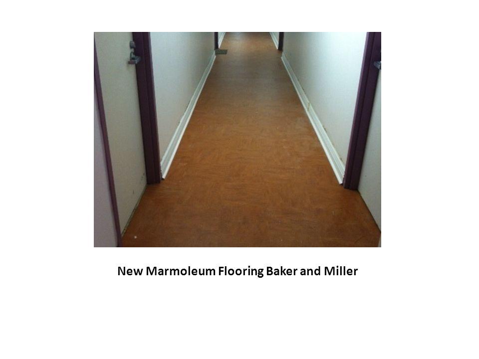 New Marmoleum Flooring Baker and Miller