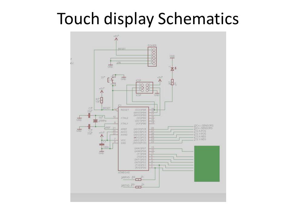 Touch display Schematics