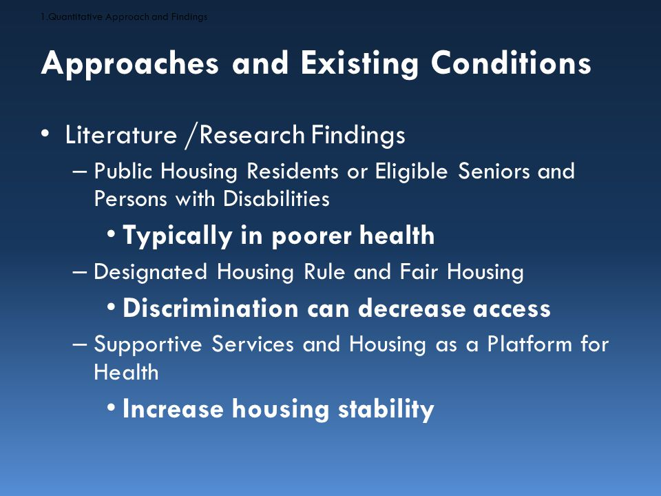 Recommendations Promote Fair Housing Initiatives to Support Choice in Integrated Community Living 1.Advance Efforts to Use Housing as a Platform for Supportive Services 2.Promote Fair Housing Initiatives to Support Choice in Integrated Community Living 3.Equip PHAs with Data to Inform Strategies and Actions to Improve Neighborhoods Resources 1.Advance Efforts to Use Housing as a Platform for Supportive Services 2.Promote Fair Housing Initiatives to Support Choice in Integrated Community Living 3.Equip PHAs with Data to Inform Strategies and Actions to Improve Neighborhoods Resources Source: http://www.clickhome.com.au/wp-content/uploads/sites/4/2013/08/System_Integration_1.jpg