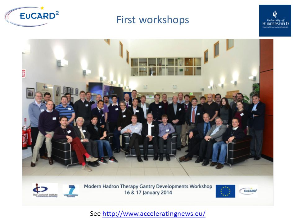 First workshops See http://www.acceleratingnews.eu/http://www.acceleratingnews.eu/
