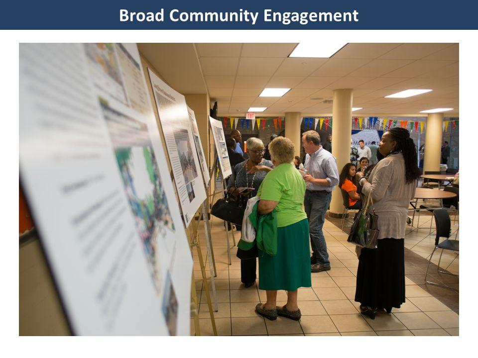 Broad Community Engagement