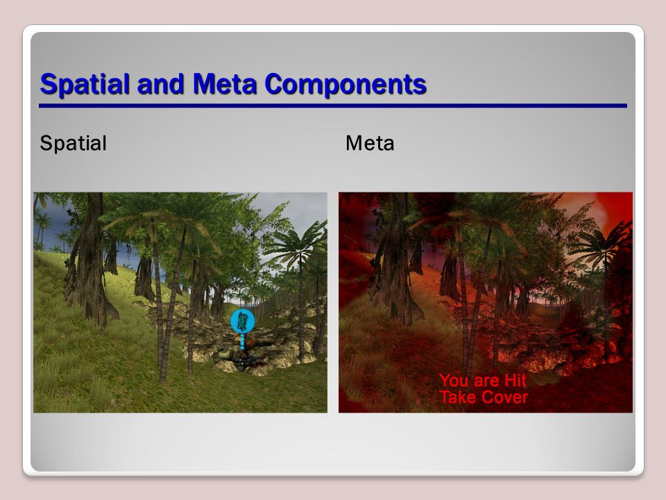 Spatial and Meta Components SpatialMeta