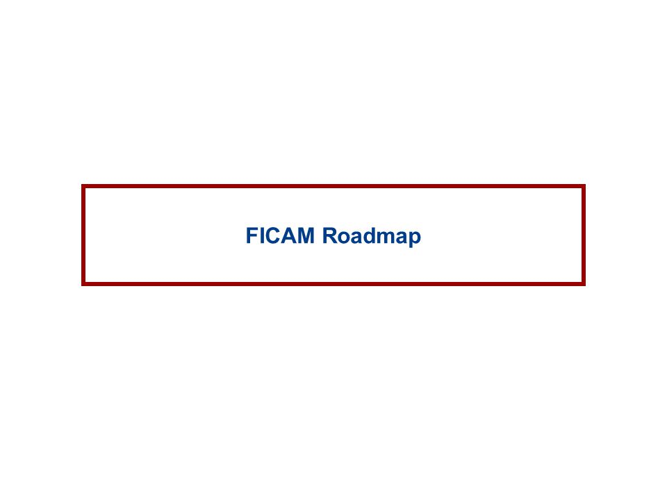 FICAM Roadmap