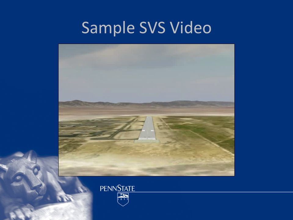 Sample SVS Video