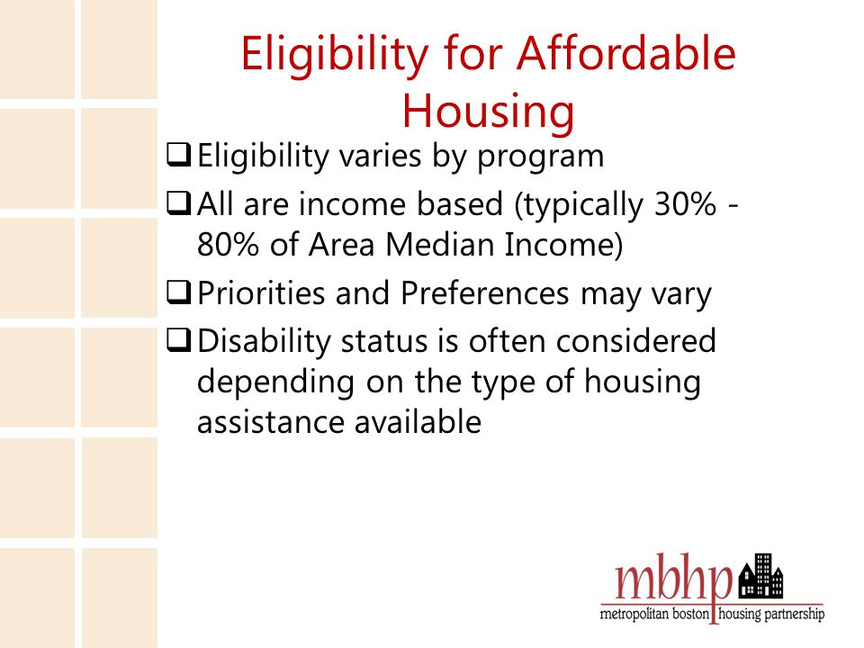 Using a Section 8 Mobile Voucher  Applicant is required to complete independent housing search – Time is often limited, though may be extended for certain reasons – Owner must complete paperwork to be submitted to agency to conduct inspection – A unit MUST pass a Housing Quality Standards (HQS) Inspection and be determined rent reasonable before a lease is approved