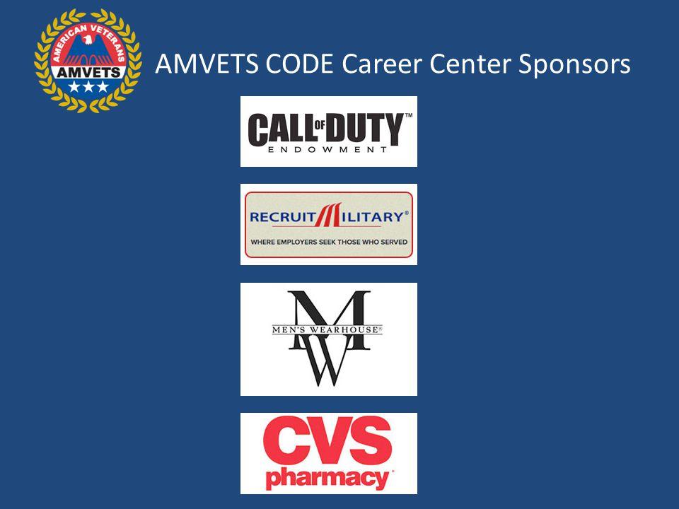 AMVETS CODE Career Center Sponsors