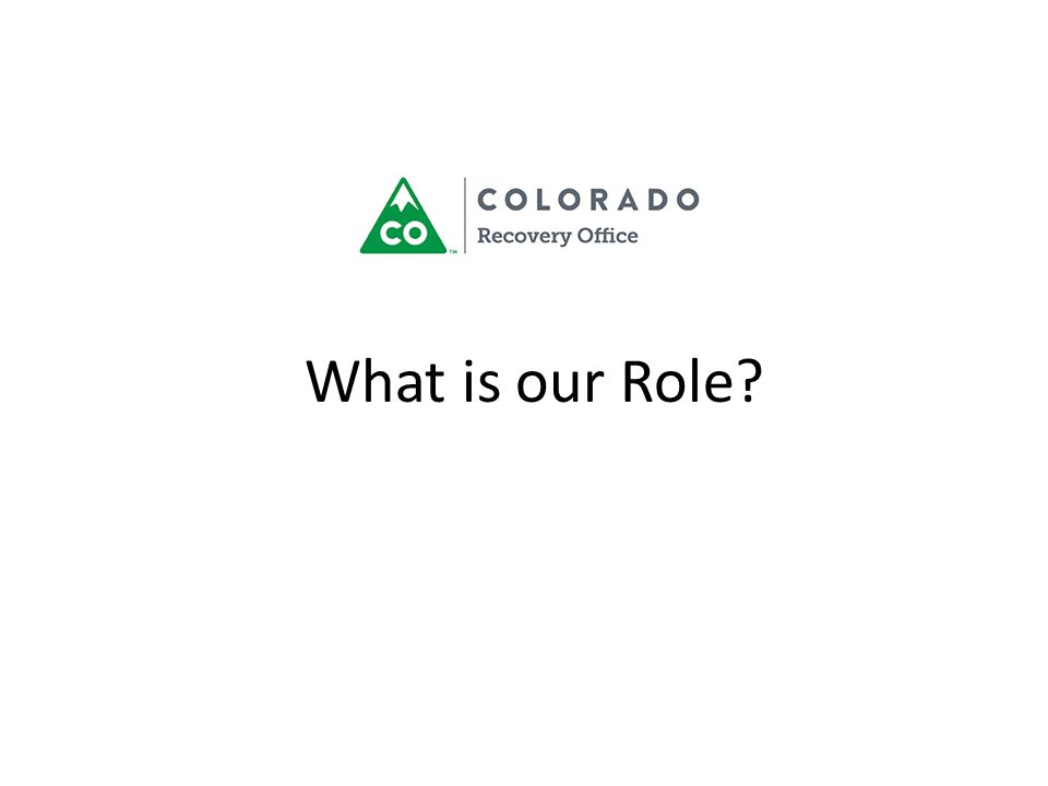 What is our Role?