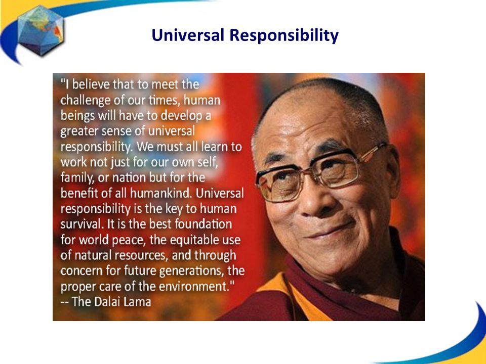 Universal Responsibility