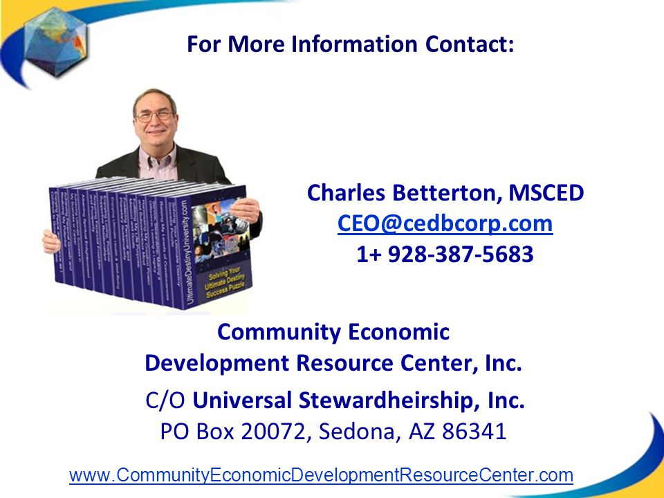 Community Economic Development Resource Center, Inc.