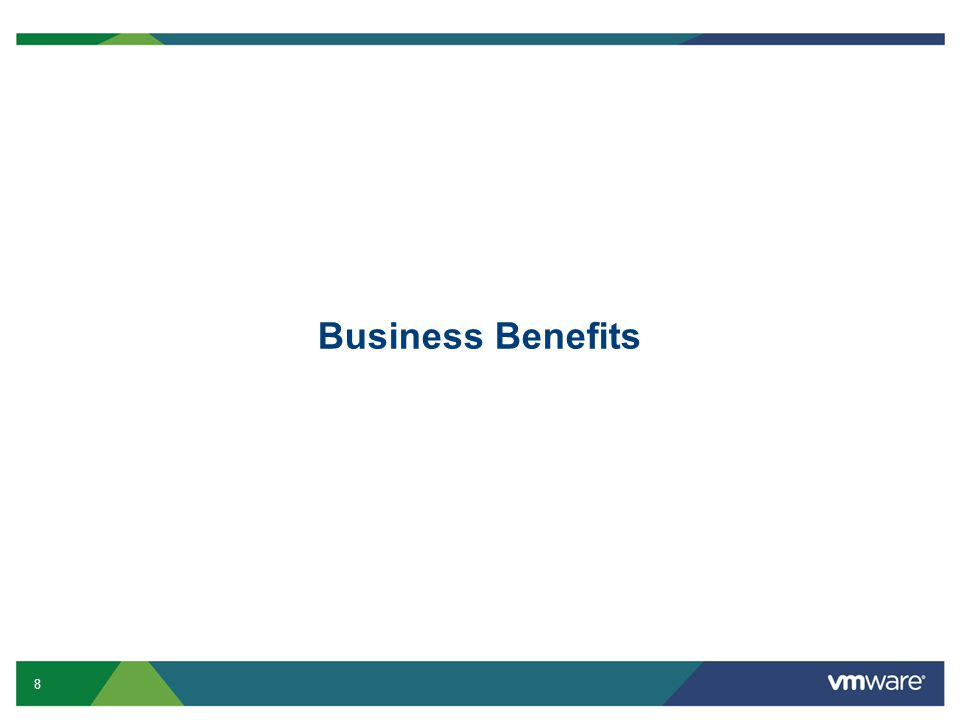 8 Business Benefits