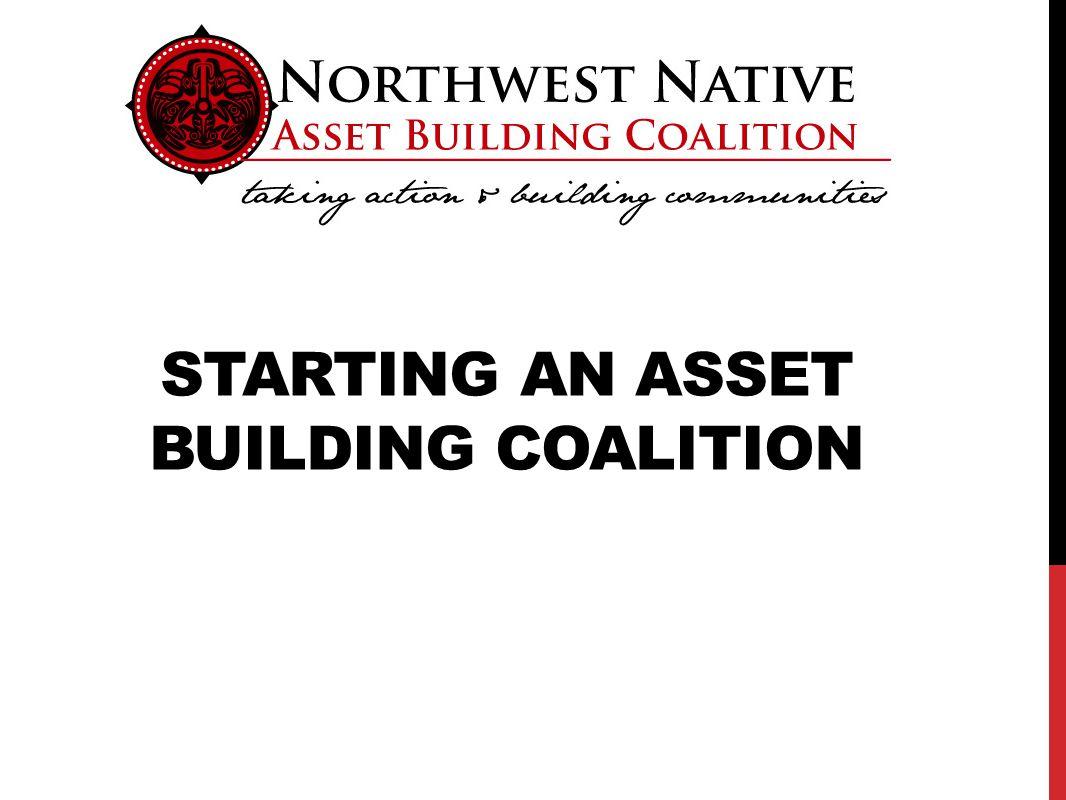 STARTING AN ASSET BUILDING COALITION