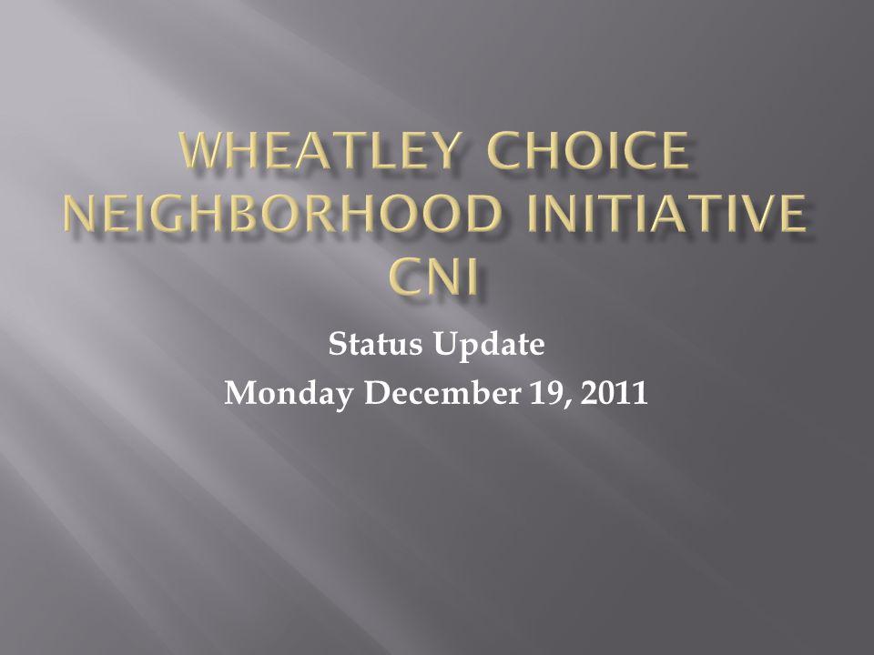 Status Update Monday December 19, 2011