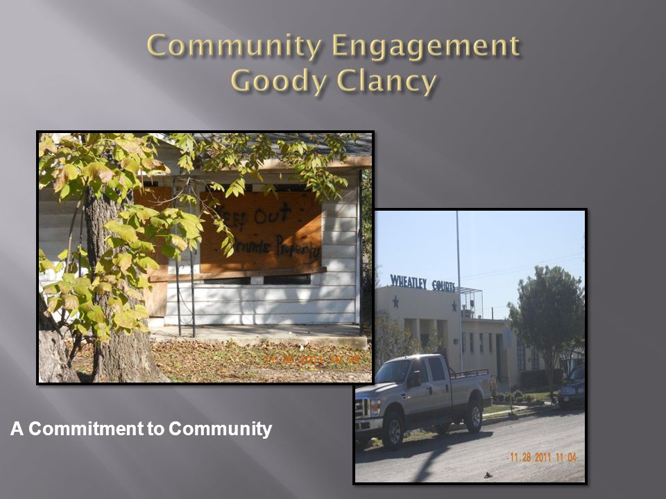 A Commitment to Community