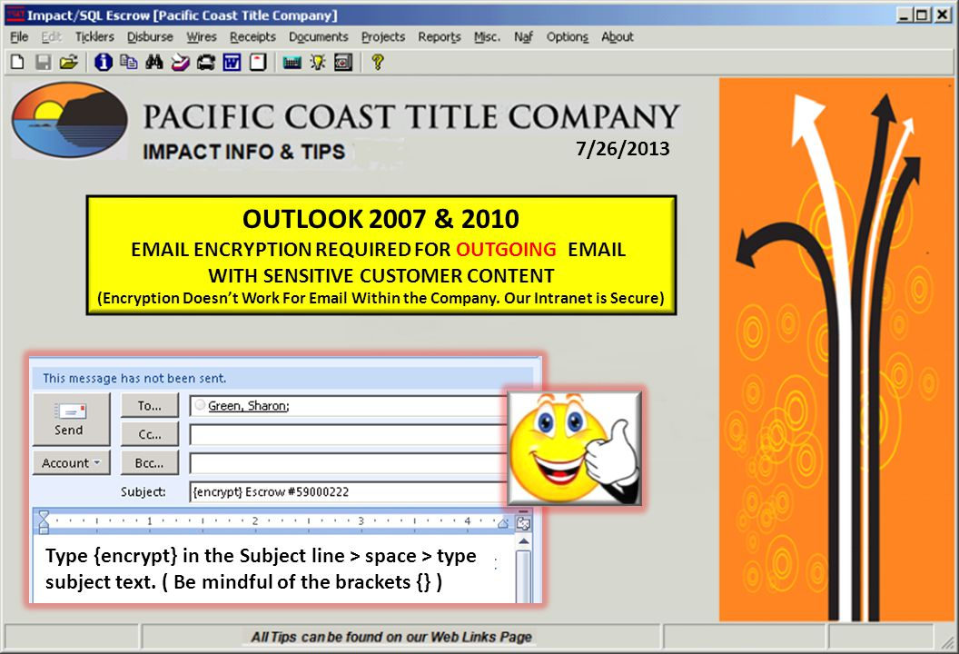 8/17/2011 Impact SOURCE OF BUSINESS > Parties Screen Click On The Pencil To Edit Your Parties & Select From Naf
