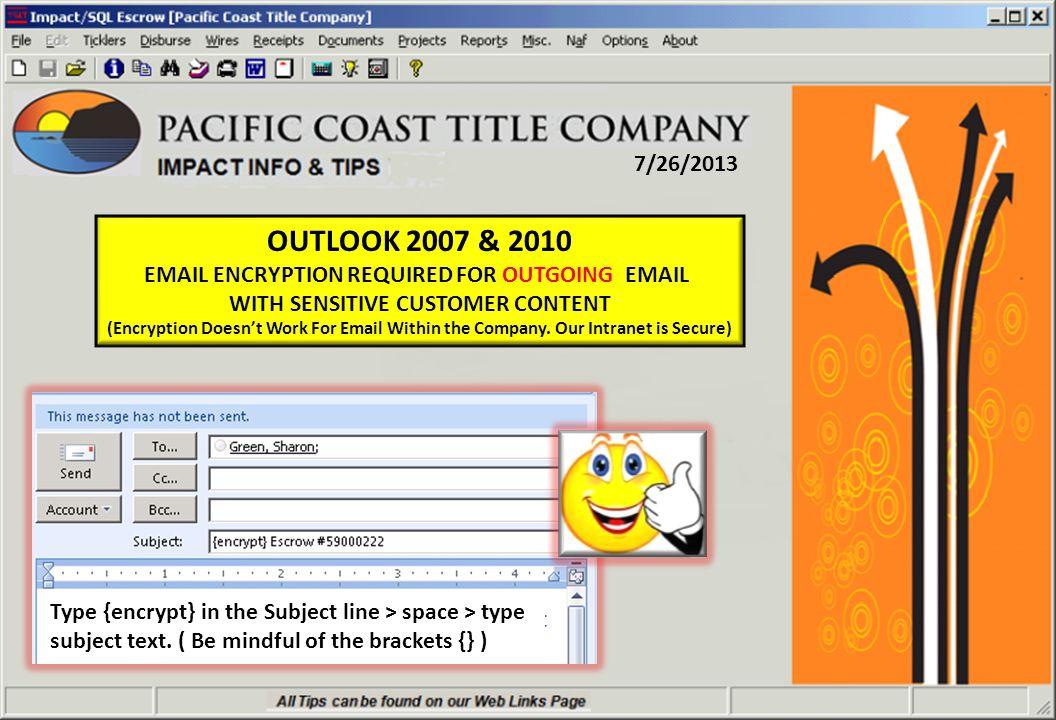 3/19/2013 Impact v8.0 New Document List Location.