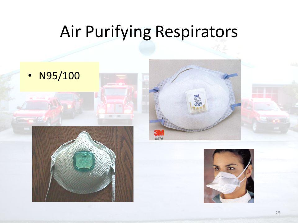 23 Air Purifying Respirators N95/100