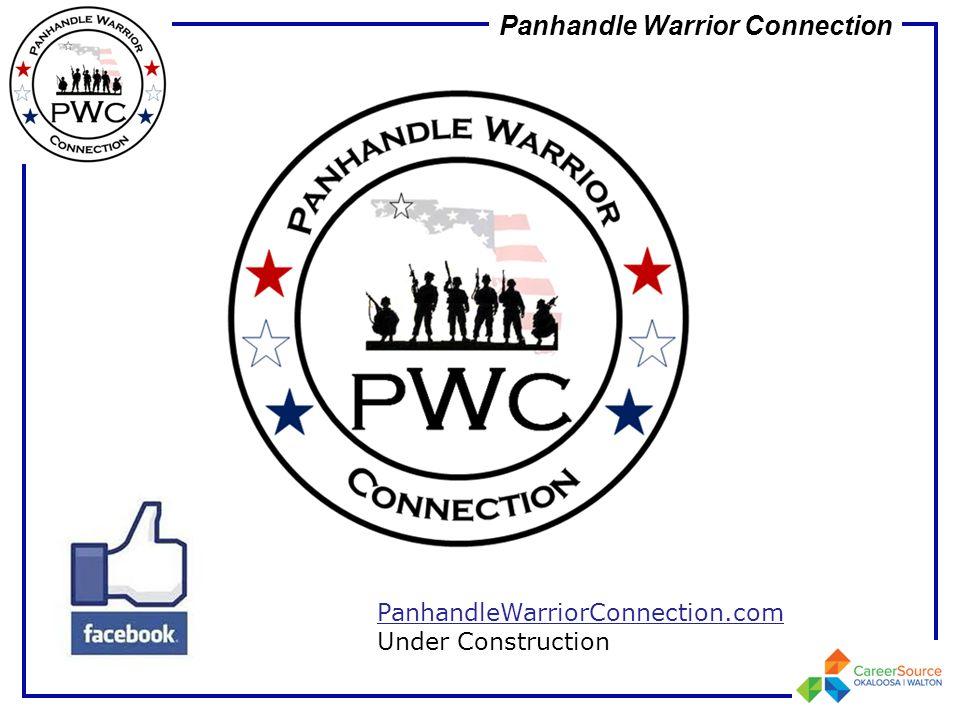 Panhandle Warrior Connection PanhandleWarriorConnection.com Under Construction
