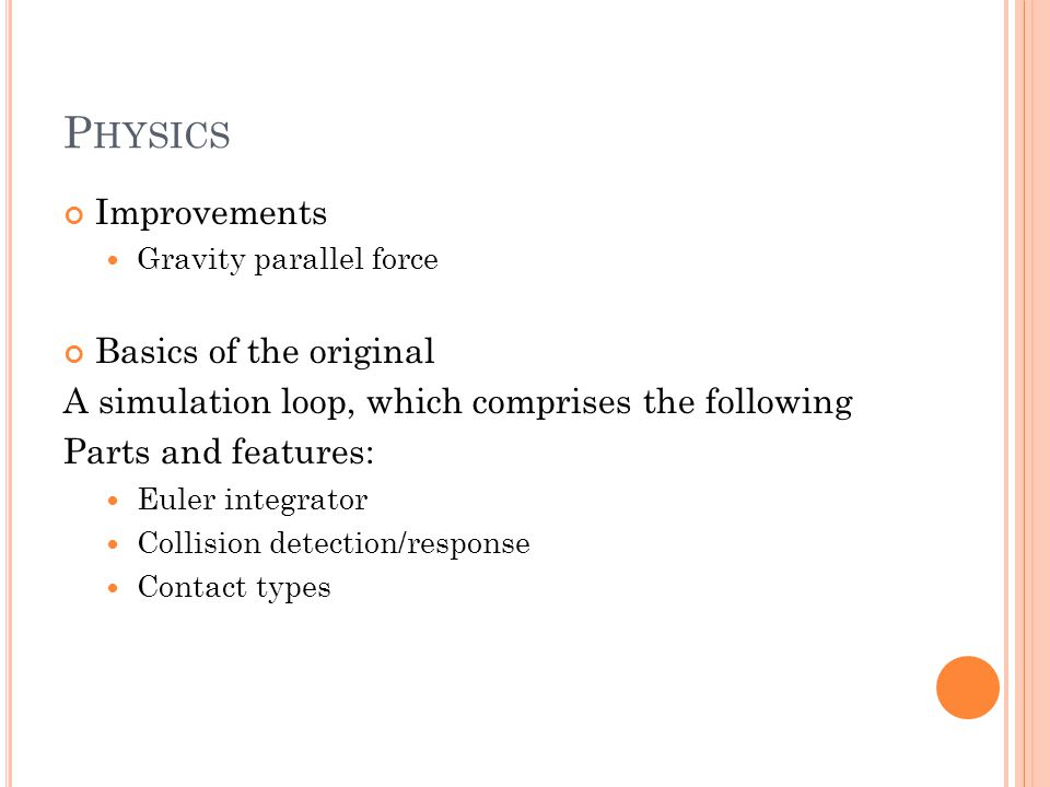 P HYSICS Old physicsNew