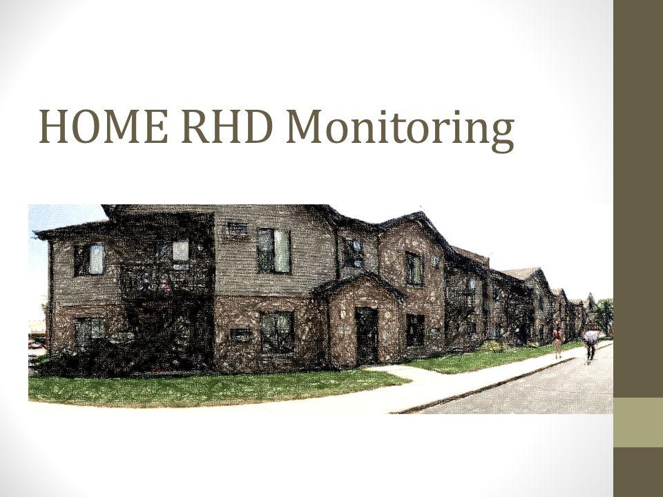 HOME RHD Monitoring