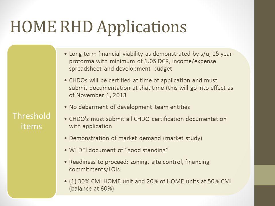 HOME RHD COMPLIANCE