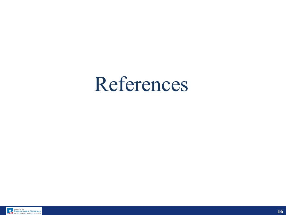 References 16