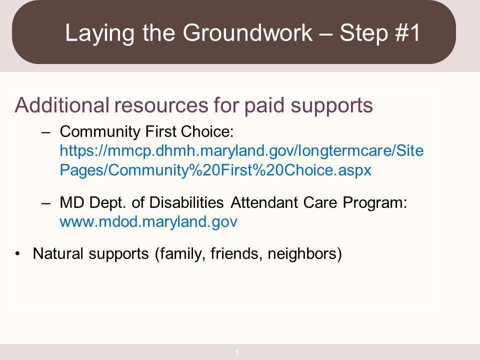 Resources MD Technical Assistance Program www.mdtap.org Dept.
