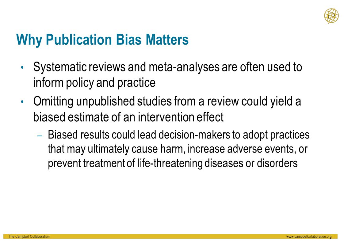 Reject the null hypothesis of no small study effects ( b =-118.21; p =.002) Possible evidence of small study bias