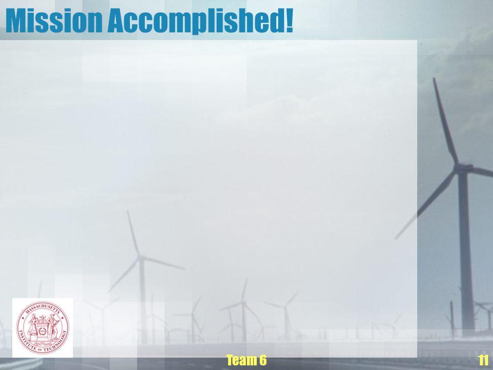 Team 611 Mission Accomplished!