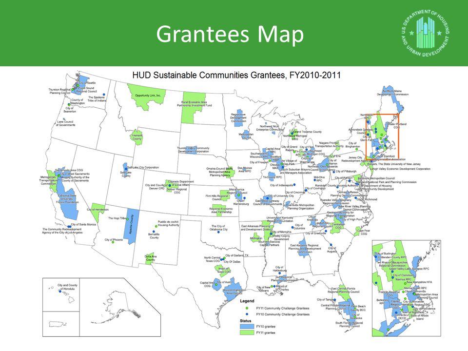 Grantees Map