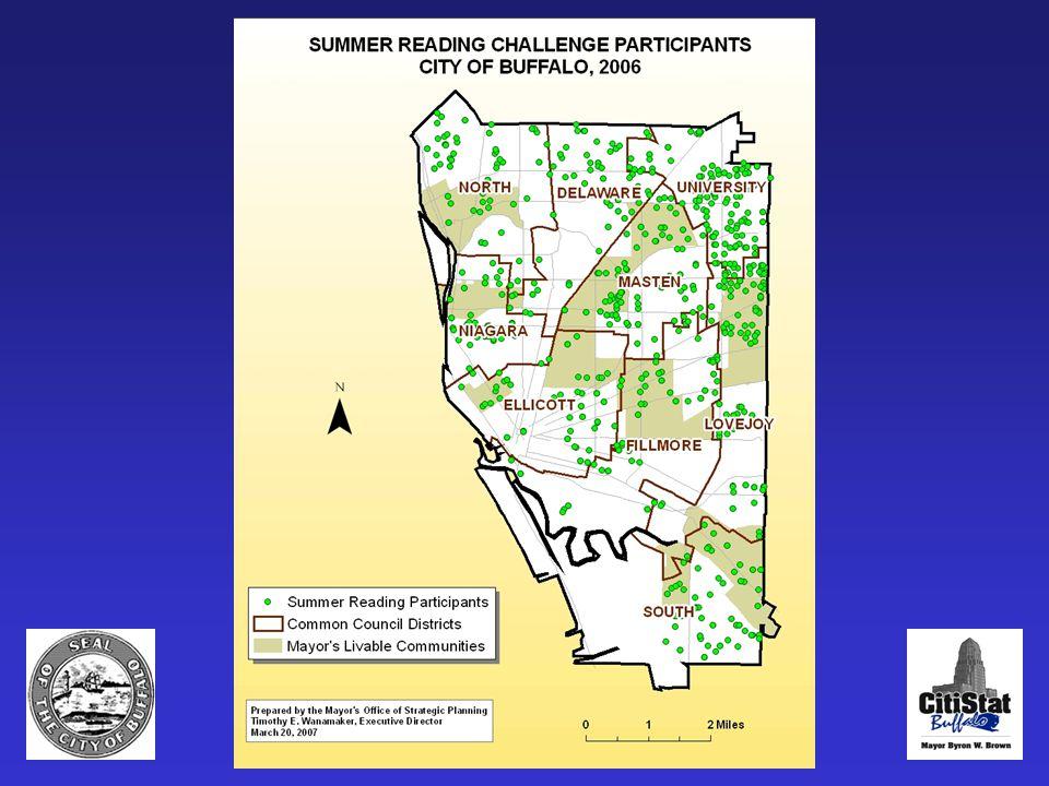 Summer Reading Challenge map