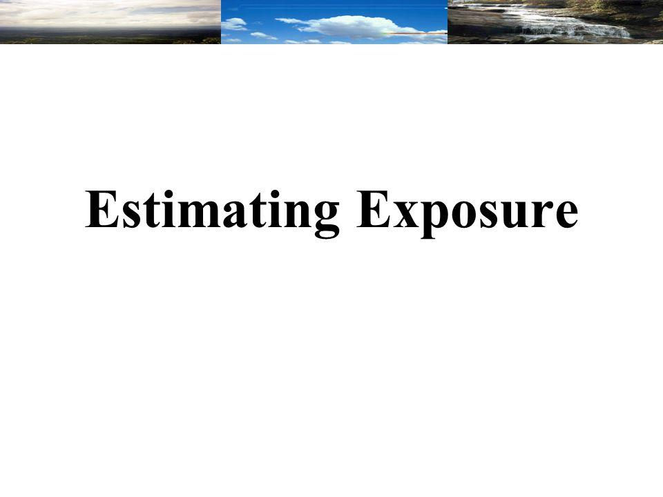 Estimating Exposure