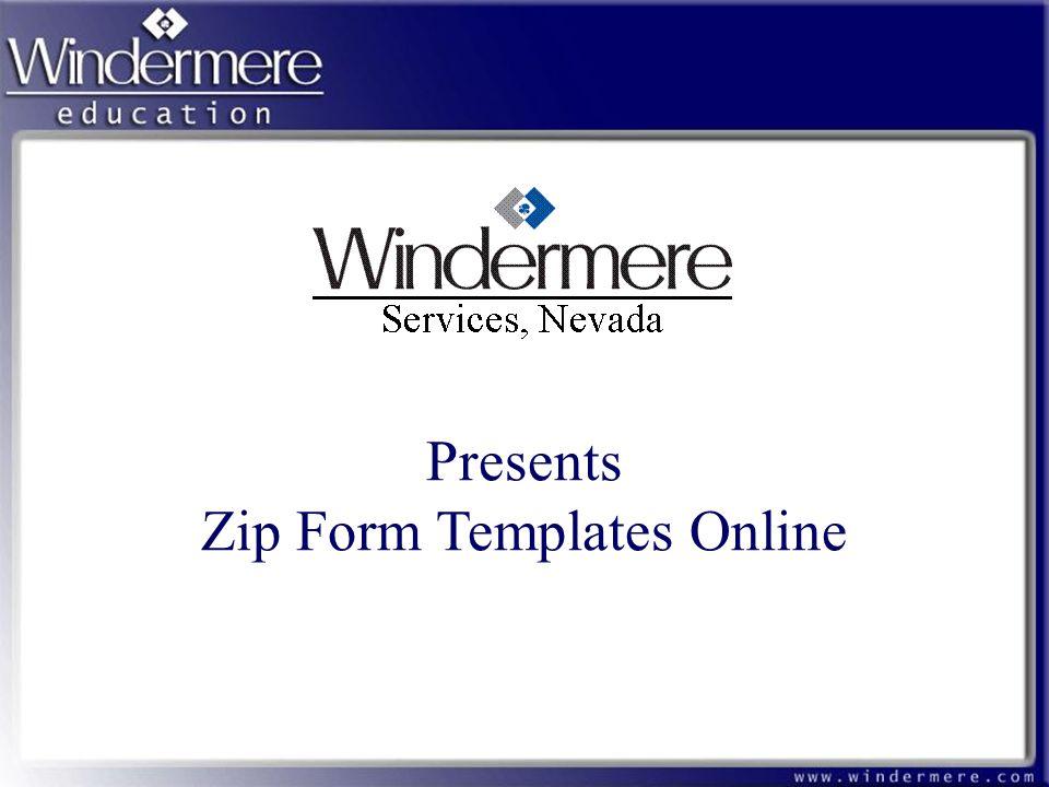 Presents Zip Form Templates Online