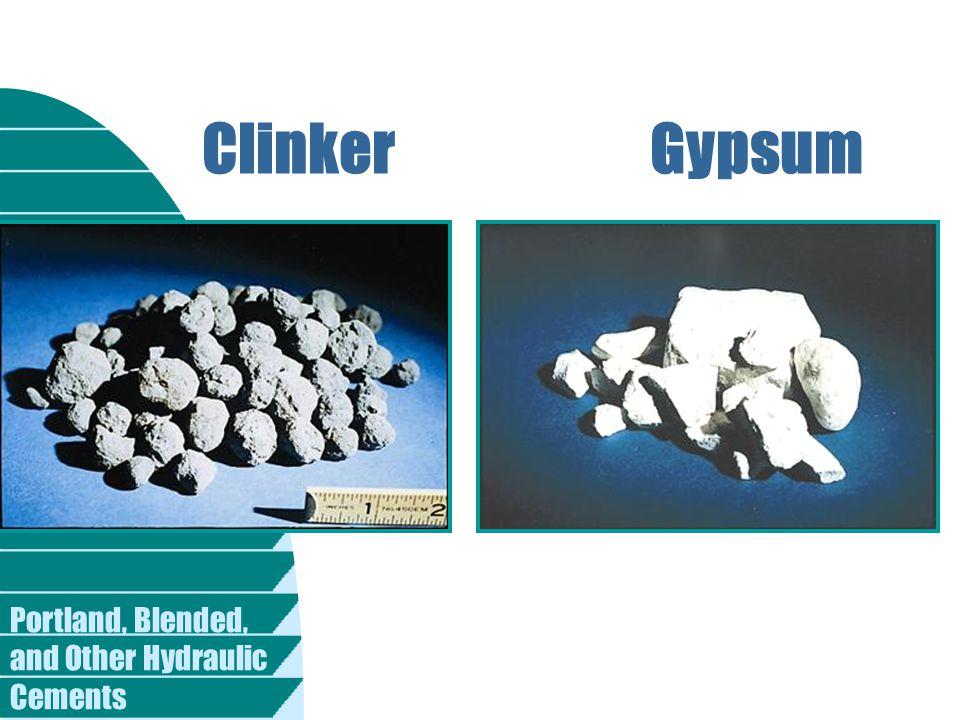 ClinkerGypsum