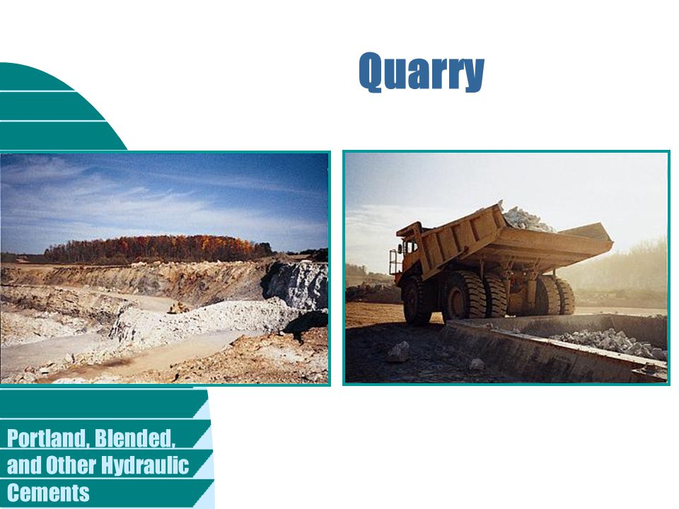 Portland, Blended, and Other Hydraulic Cements Quarry