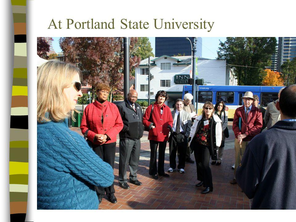 At Portland State University