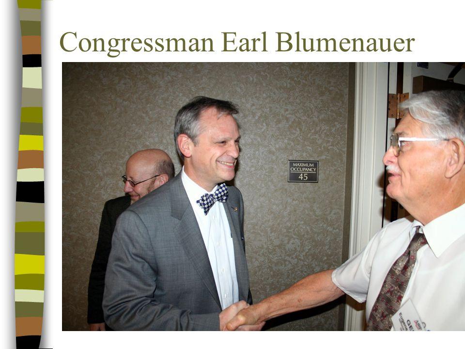 Congressman Earl Blumenauer