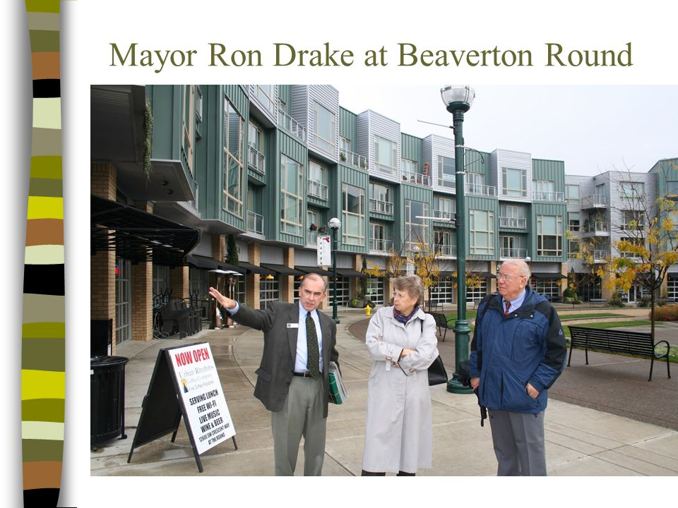 Mayor Ron Drake at Beaverton Round