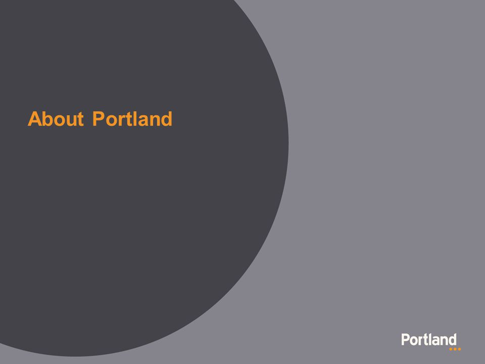 About Portland