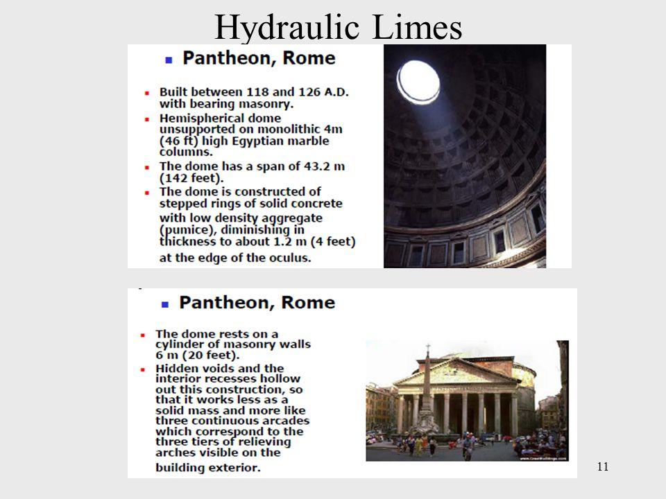 Hydraulic Limes 11