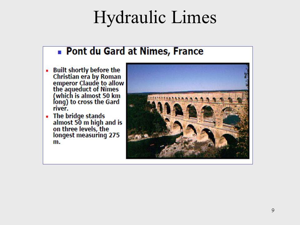 Hydraulic Limes 9