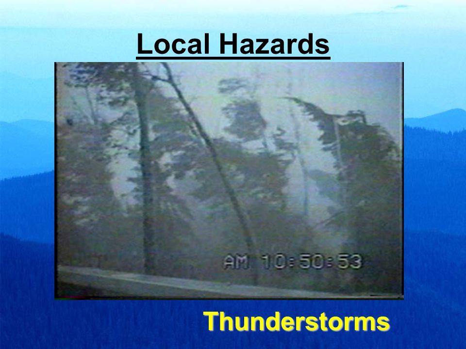 Local Hazards Thunderstorms